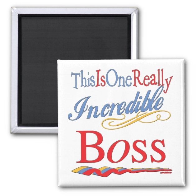 Great Gifts For Boss Magnet Zazzle