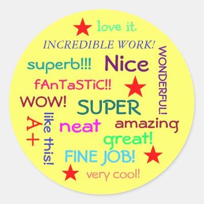 great job sticker zazzle