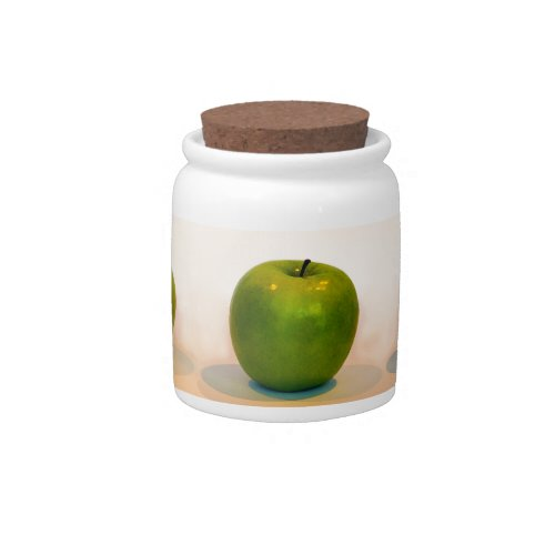 Green Apple Trio Candy Dish