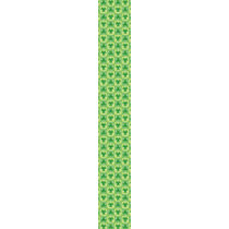 Green clover shamrock pattern St Patrick's day Neck Wear