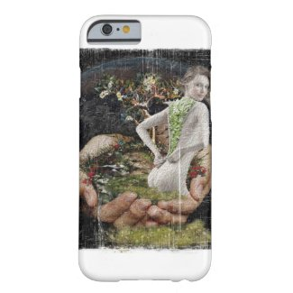 Green girl barely there iPhone 6 case
