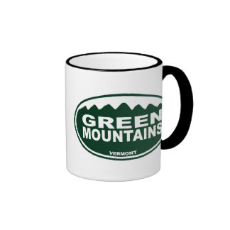Green Mountain Coffee Mugs