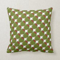 Olive Green Pillows - Decorative & Throw Pillows | Zazzle