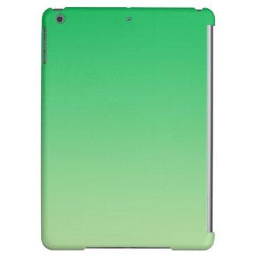 Green Ombre iPad Air Case