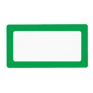 green solid border blank