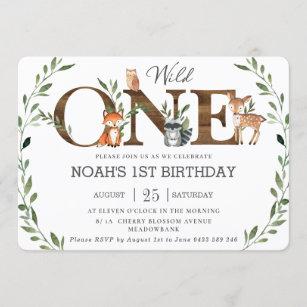 wild one invitations zazzle