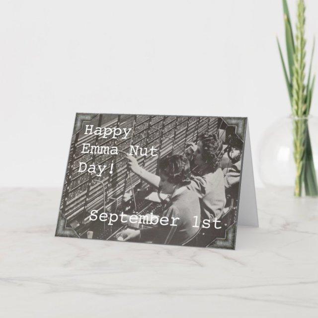 Greeting Card - September 1st - EMMA NUTT DAY
