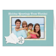 Greetings From Florida Photo Christmas Card