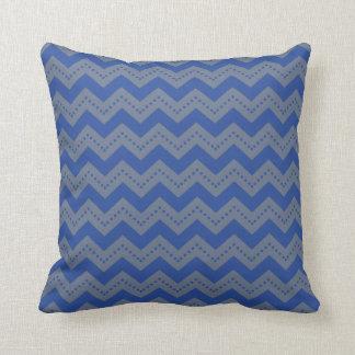 Blue Grey Pillows  Decorative  Throw Pillows  Zazzle