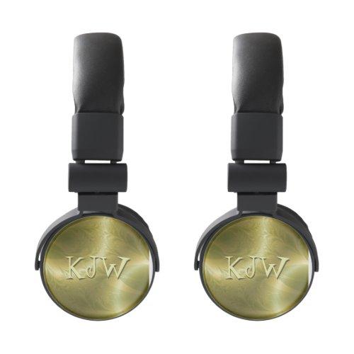 Groovy Monogram Paisley Headphones