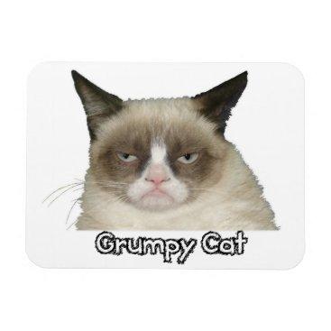 Grumpy Cat 3x4 Flexible Magnet