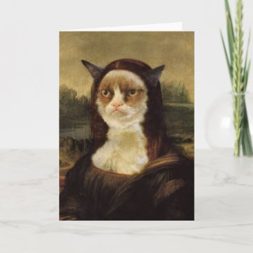 Grumpy Cat Card