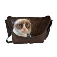 Grumpy Cat Classic Courier Bags