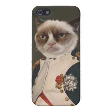 Grumpy Cat Classic Painting Case For iPhone SE/5/5s