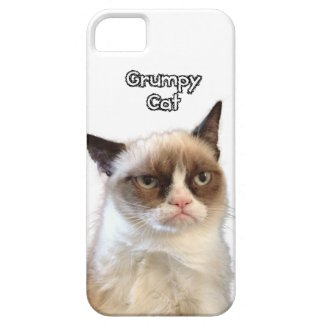 Grumpy Cat Phone Case iPhone 5 Cover