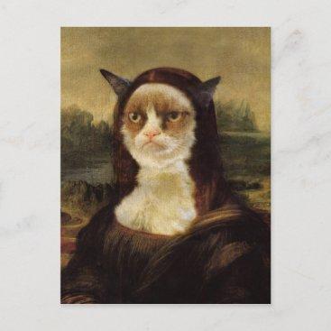 Grumpy Cat Postcard