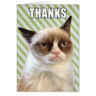 Grumpy Cat™ Thank You Card