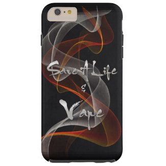 Grunge Save A Life & Vape iPhone6 Plus Case