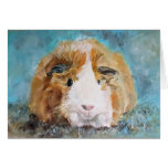 Guinea Pig Oil Painting by Kate Marr Card