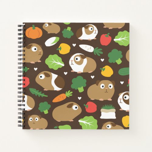 Guinea Pigs And Their Treats Notebook