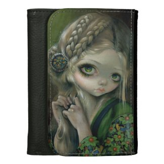 """Guinevere Had Green Eyes"" Wallet"