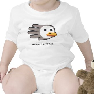 Gull baby t-shirt bodysuit