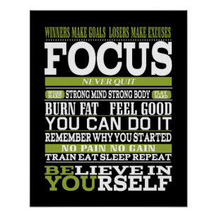exercise motivation posters photo