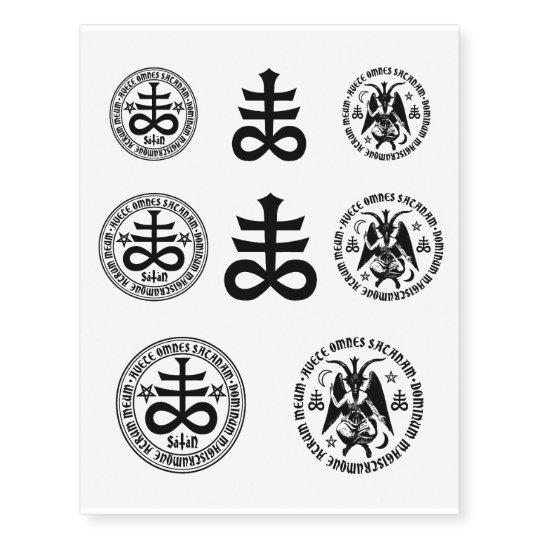 Satanic Tattoos Designs