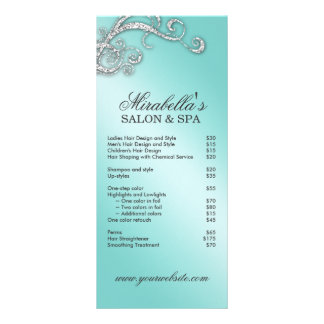 Spa Rack Cards Zazzle