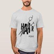 hair stylist t-shirt zazzle