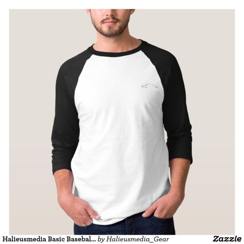 Halieusmedia Basic Baseball Shirt