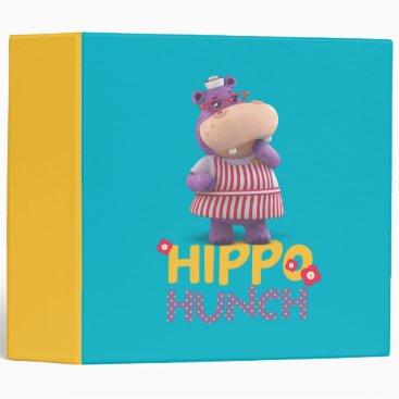 Hallie - Hippo Hunch Binder