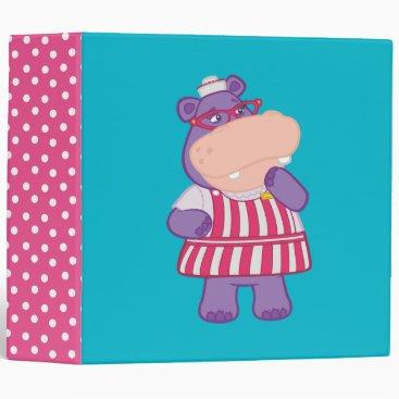 Hallie the Happy Hippo Binder