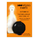 Halloween Bowling Party Invitations