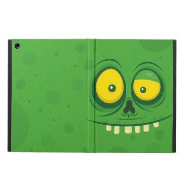 Halloween Cute Green Monster Face Case For iPad Air