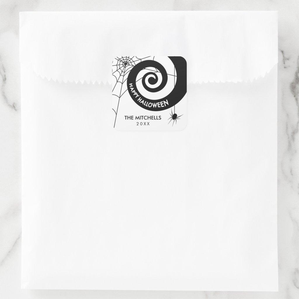 Halloween Decoration Stickers | Black & White