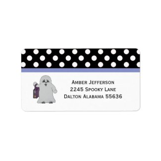 Halloween: Ghost Address Labels