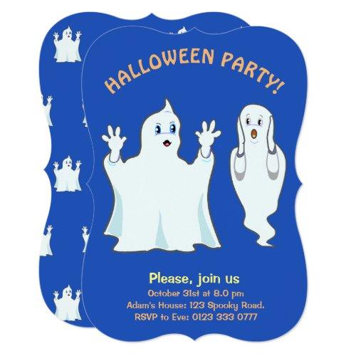 Halloween Ghost Invitation