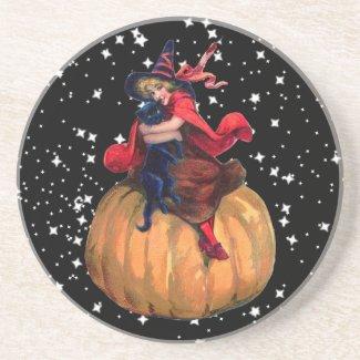 Halloween: The Final Frontier Beverage Coaster