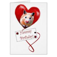 Hammy Birthday Cards