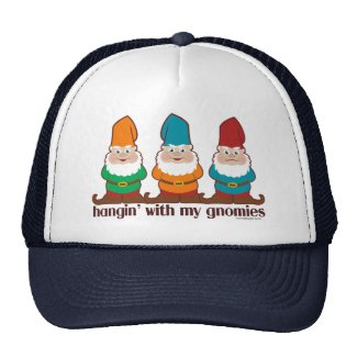 Hangin' With My Gnomies Mesh Hats