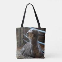 Happy Baby Alpaca Smiles Tote Bag