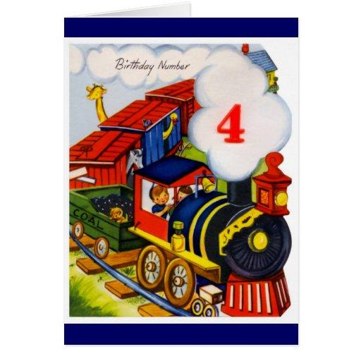 Happy Birthday Wishes 4 Year Old Boy
