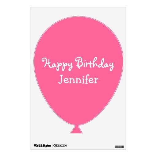 Happy Birthday Balloons Name Rodney