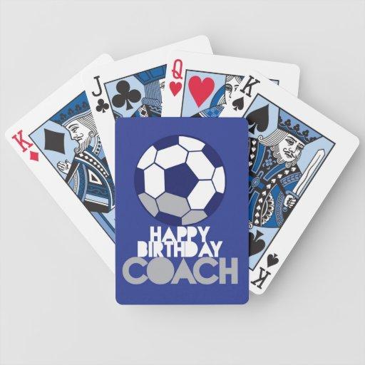 Happy Birthday Card Soccer Coach