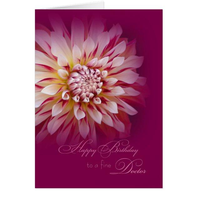 Happy Birthday For Female Doctor Card Zazzle Com