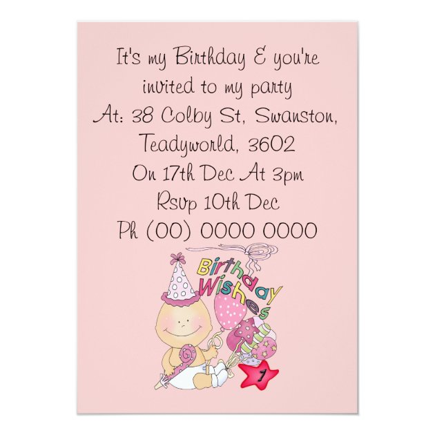 pictures on birthday invitation cards