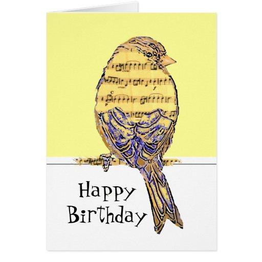 Notes Facebook Happy Musical Birthday