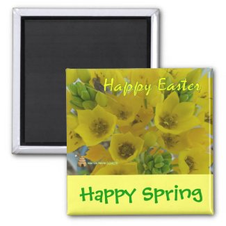 Happy Easter (3) - Magnet - Customize/Personalize magnet