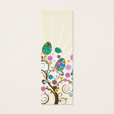Happy Easter Abstract Bookmark